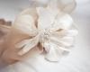 chapeau de mariage unique et fait main